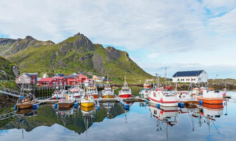 The fishing village of Stø