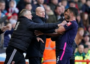 Wilder clashes with Surman.