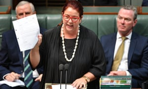 Melissa Price during question time on Thursday