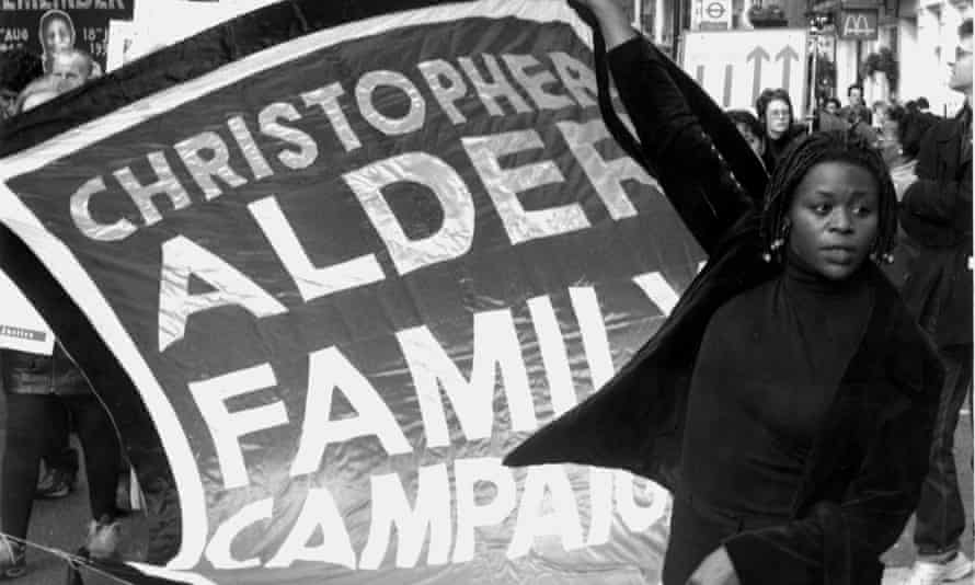 Janet Alder, sister of Christopher Alder, who was unlawfully killed in police custody in Hull in 1998.