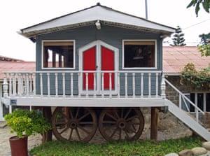 La Casa de Isla Negra, the poet's beachside home.