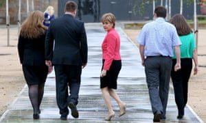 Tony Blair has picked a fight with Nicola Sturgeon, the Scottish first minister.