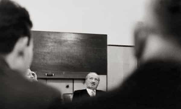 Martin Heidegger, 1961.
