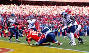 Afc Championship Game Tennessee Titans 24 35 Kansas City Chiefs As It Happened Sport The Guardian