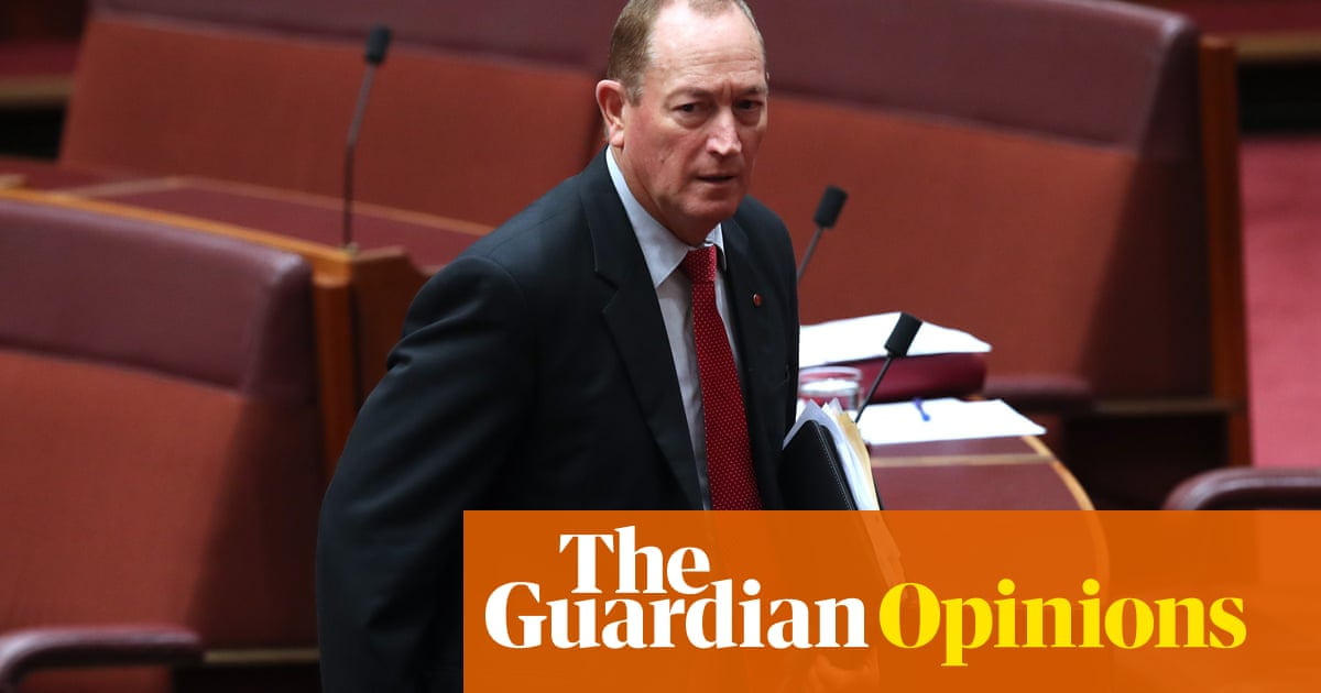 Fraser Anning will soon leave our parliament – but his xenophobic message will not | Amy Remeikis