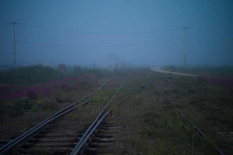 Railroad tracks near Churchill.