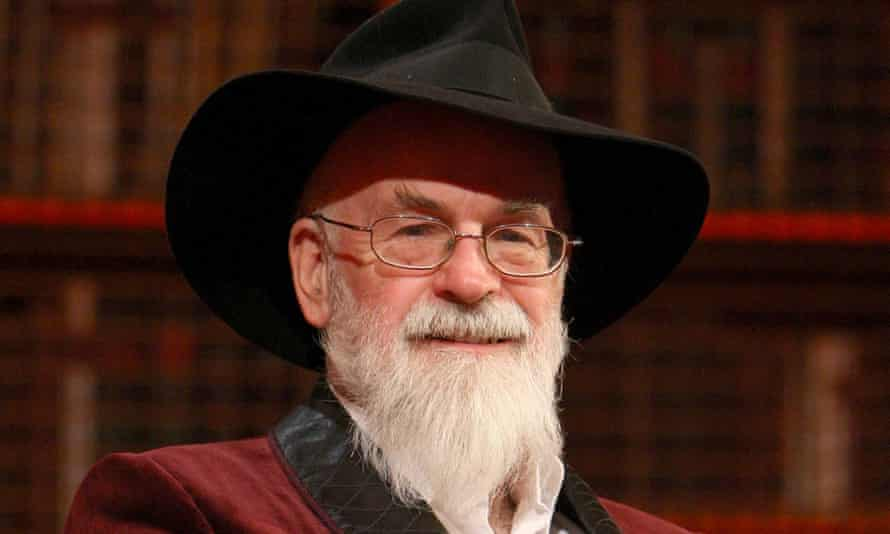 First stories, final collection … Terry Pratchett, pictured in 2010.