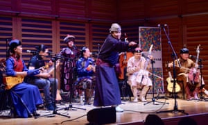 A rousing masterclass in folk revivalism … Anda Union at Kings Place.