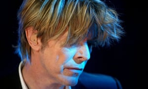 David Bowie … Turn and face the sales.