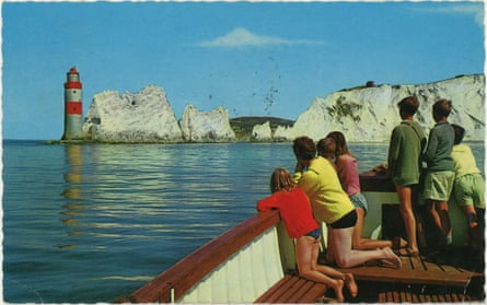 The Needles. Old Isle of Wight postcard