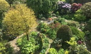 Small yet sprawling: Millgate House garden.
