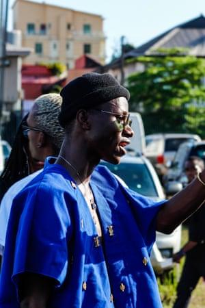 Lagos fashion week street style