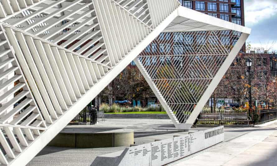 The New York City Aids Memorial in Manhattan