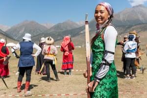 Darima Cyrendodopova, an archer from Buryatia in the Russian Federation