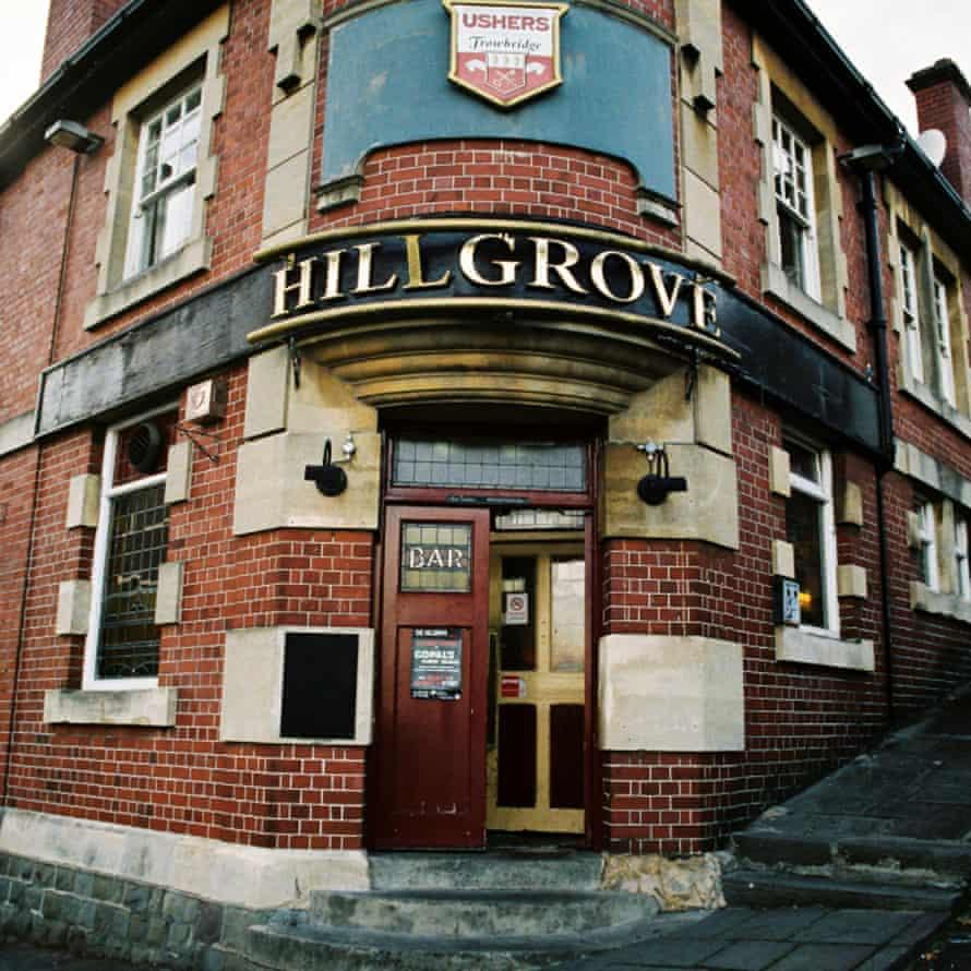 Exterior of Hillgrove pub, Bristol, UK