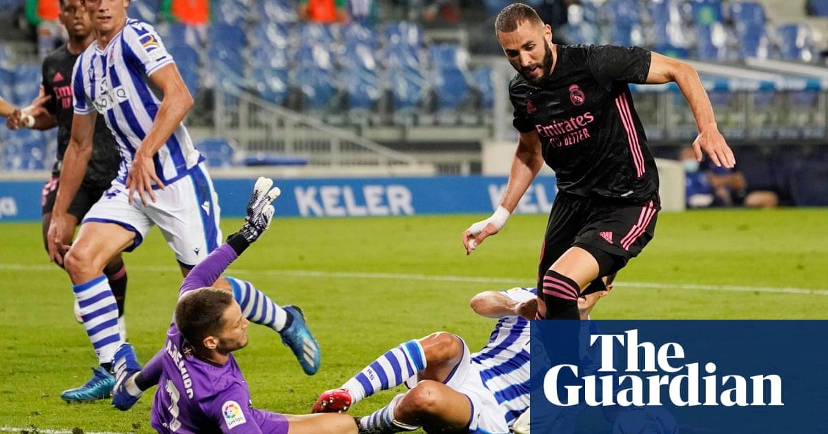 European roundup: Real Madrid held goalless by Real Sociedad