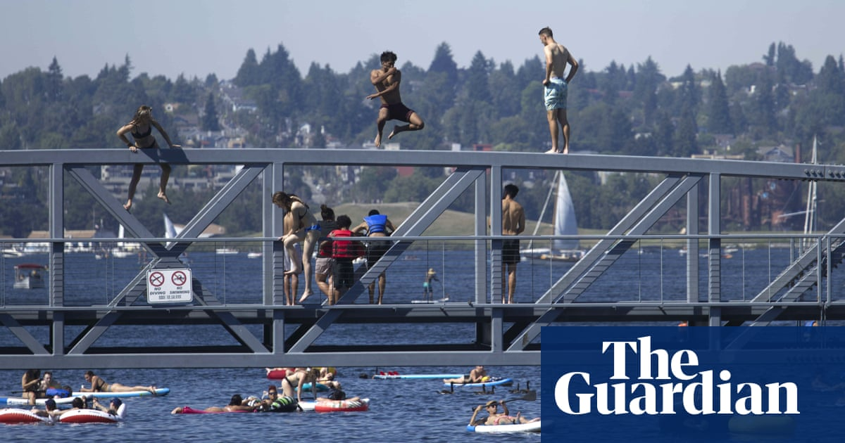'Heat dome' in Pacific north-west breaks records as Portland braces for 115F