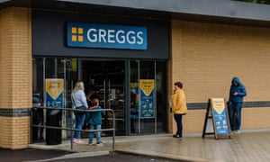 A Greggs store in Wales