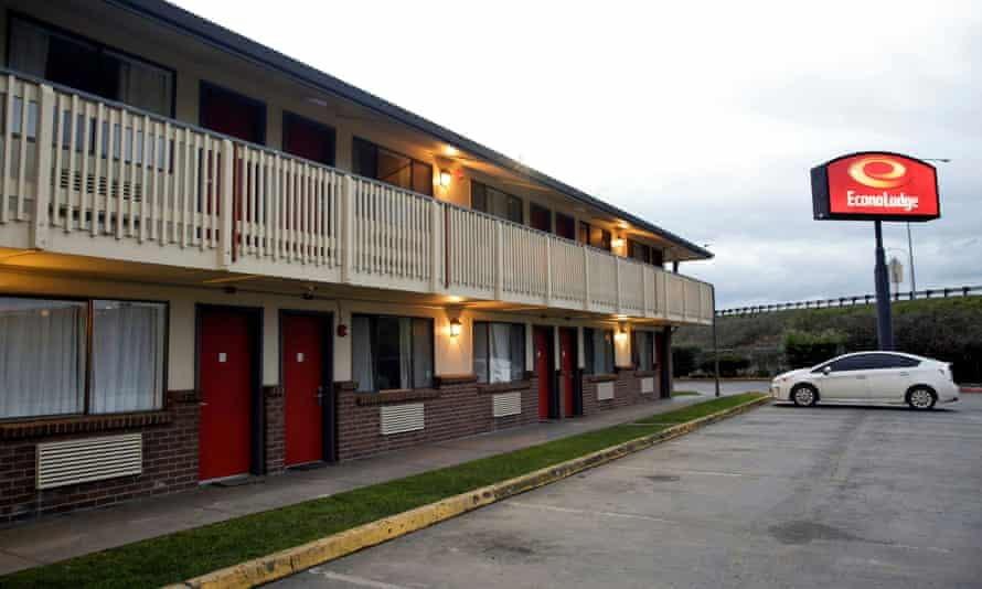 The Econo Lodge motel in Kent.