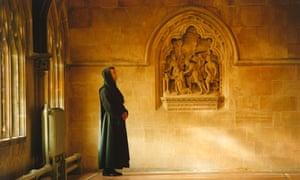 A Benedictine monk at Downside Abbey near Bath.