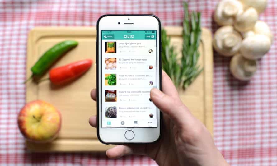 The Olio food-sharing app