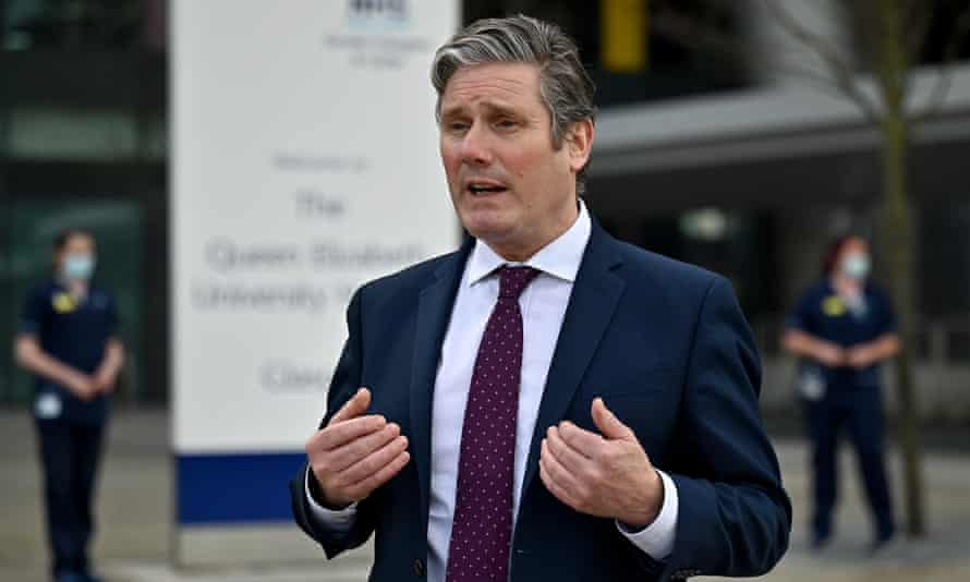 Keir Starmer: his team has been accused in some quarters of inexperience and ignoring Labour MPs' concerns.