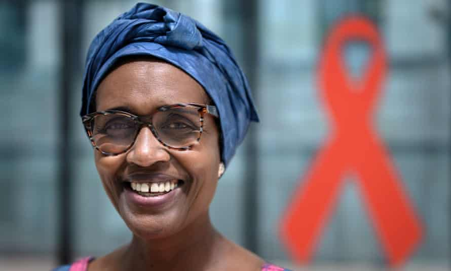 Winnie Byanyima, the executive director of UNAids.
