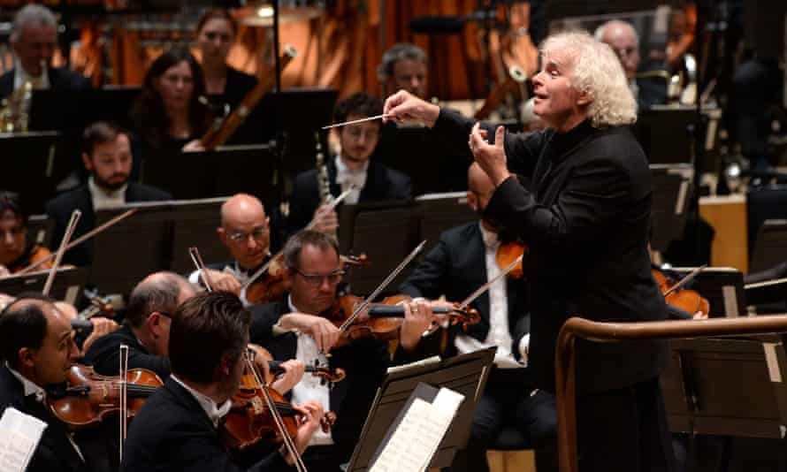 Simon Rattle conducts the London Symphony Orchestra in the opening concert of the Barbican's This Is Rattle festival.