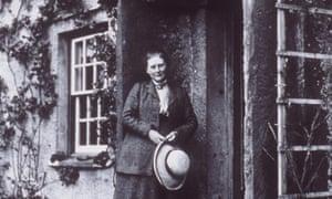 Beatrix Potter in 1913 at Hill Top Farm.