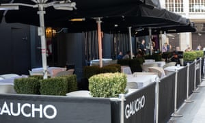 Gaucho restaurant veranda