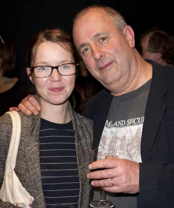 'I don't have that same confidence, networking at a party': with her husband, director Roger Michell.