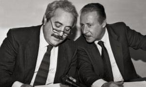 Paolo Borsellino and Giovanni Falcone