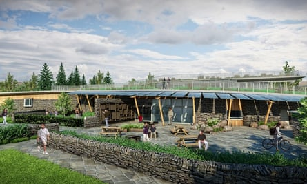 YHA The Sill at Hadrian's Wall - artists impression 2
