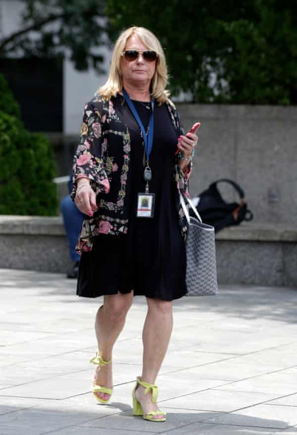 Julie K Brown, the Miami Herald reporter who worked on the Jeffrey Epstein series.