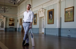 Durham and England cricketer Ben Stokes by Tom JenkinsIn the pavilion at Lords Cricket Ground.