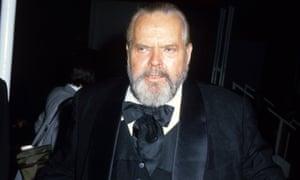 Orson Welles in 1983.