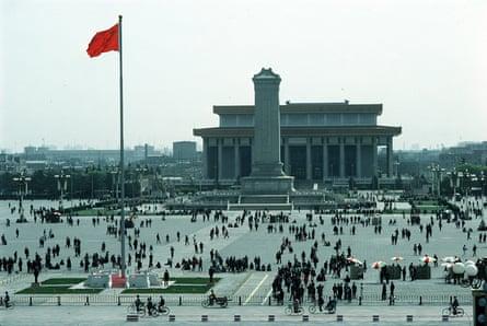 Tiananmen Square in 1995