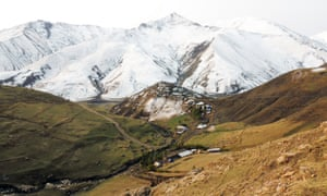 The shepherd's village of Khinaliq in the Caucasus mountains.