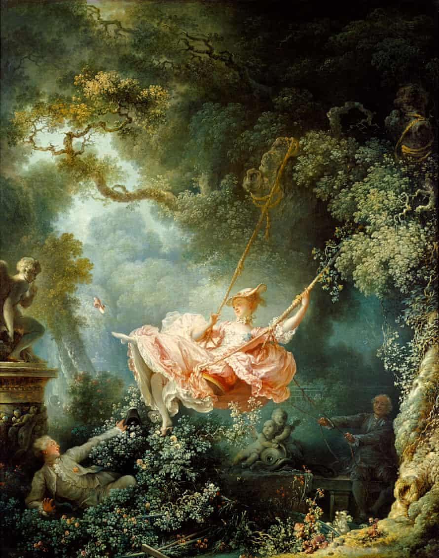 The Swing by Jean-Honore Fragonard (1767).