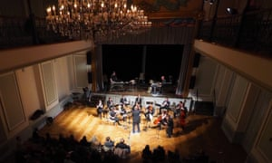 The full orchestra of the SEM Ensemble: challenging themselves and the audience