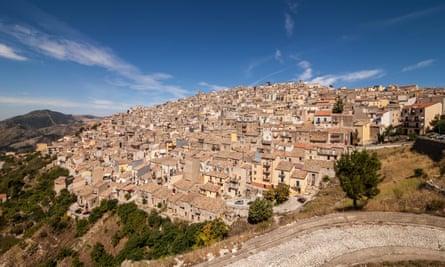 Prizzi village view