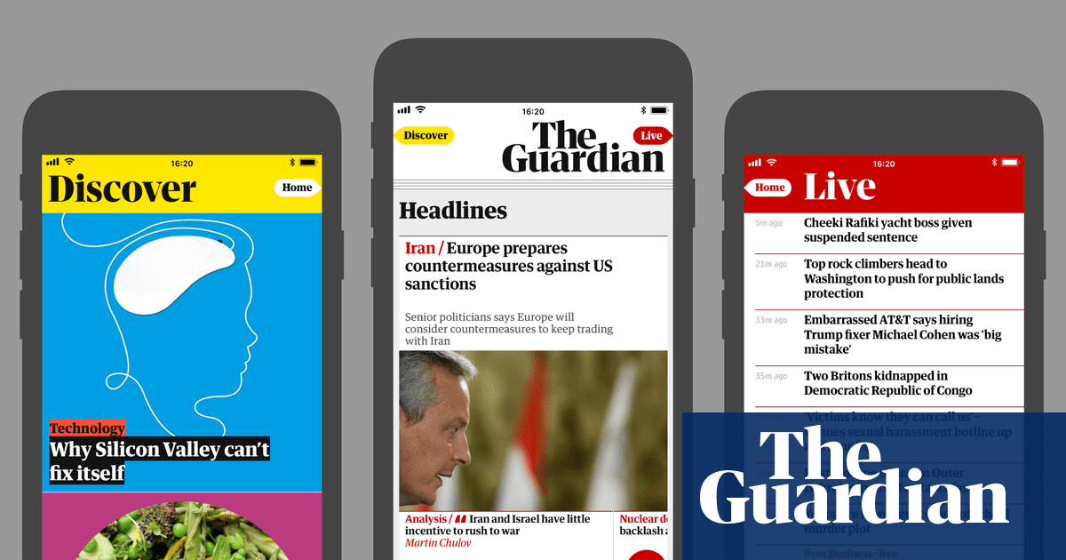 Introducing the new Guardian app for Android and iOS