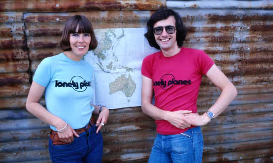 Tony and Maureen Wheeler, founders of Lonely Planet guidebooks.