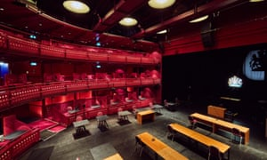 Lowry Quays theatre, converted into a Nightingale court.