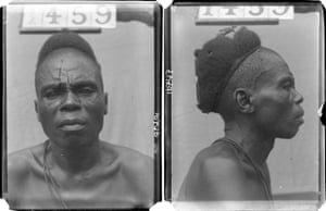 'Chief', photographed by N. W. Thomas in Kokori, Delta State, Nigeria, 1910