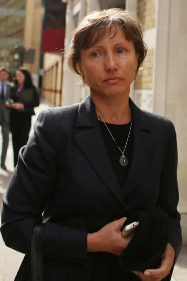 Marina Litvinenko in 2012.