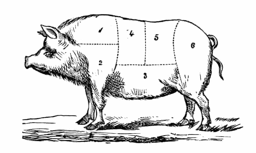 All joints do not cook not equally: the leg of pork is a particularly difficult to get right.