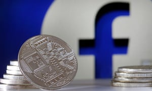 An illustration of Facebook's planned new currency, Libra.