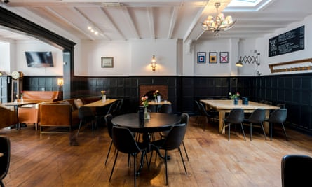 Pub interior at The William IV, Kensal Green, NW10