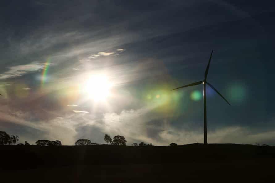 Adelaide wind turbine